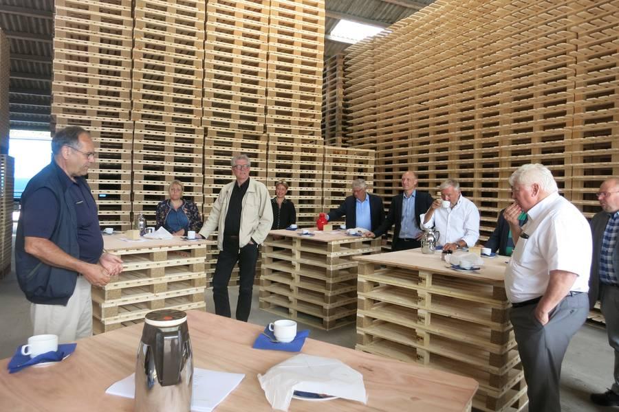 Folketingspolitikere møder Bro-lobby og erhvervsfolk. F.A.A.